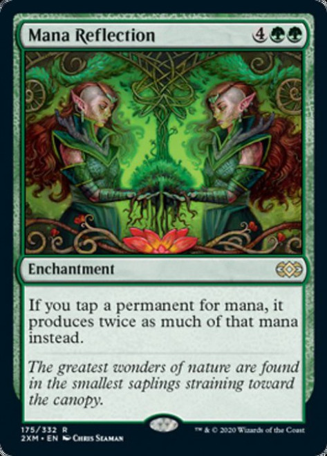 MtG Double Masters Rare Mana Reflection #175