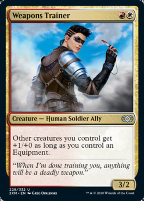 MtG Double Masters Uncommon Weapons Trainer #228