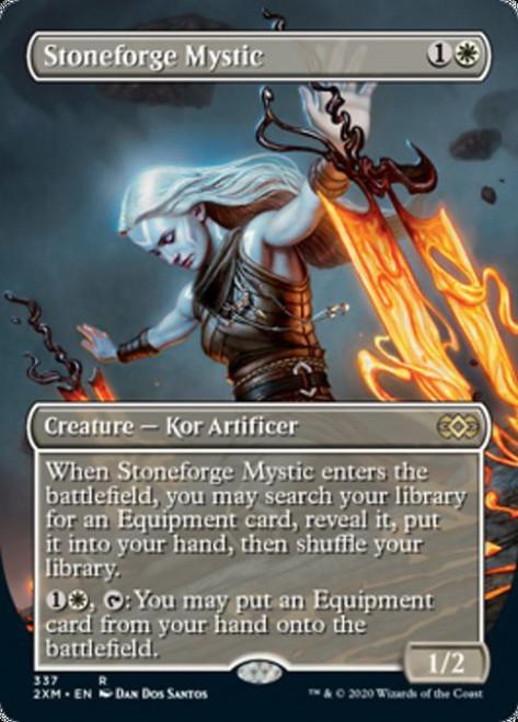 MtG Double Masters Rare Stoneforge Mystic #337 [Alternate Art Borderless]