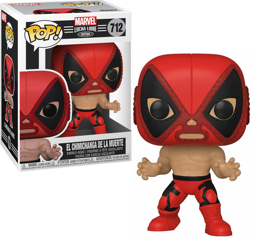 Funko Luchadores POP! Marvel El Chimicanga De La Muerte Vinyl Figure #712 [Deadpool ]