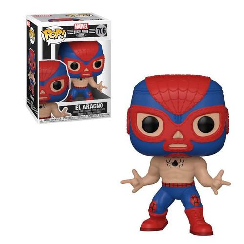 Funko Luchadores POP! Marvel El Aracino Vinyl Figure #706 [Spider-Man ]