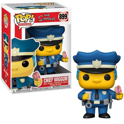 Funko The Simpsons POP! Animation Chief Wiggum Vinyl Figure (Pre-Order ships February)