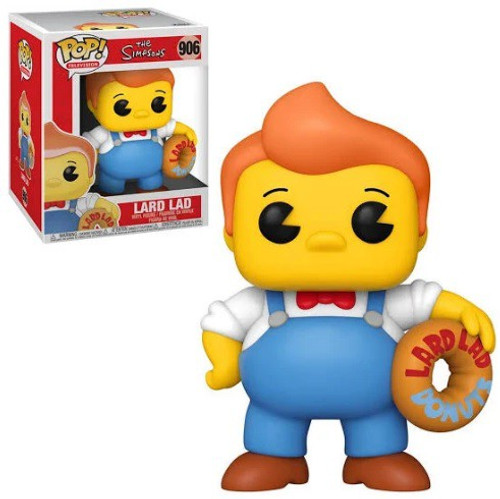 Funko The Simpsons POP! Animation Lard Lad 6-Inch Vinyl Figure [Super-Sized] (Pre-Order ships February)