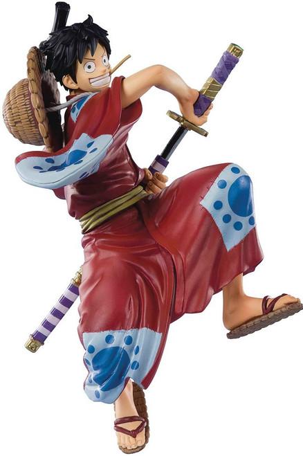 One Piece Figuarts ZERO Monkey D Luffy 5.5-Inch Statue [Luffytaro]