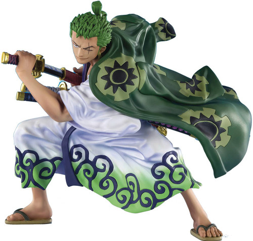 One Piece Figuarts ZERO Roronoa Zoro 4.3-Inch Statue [Zorojuro]