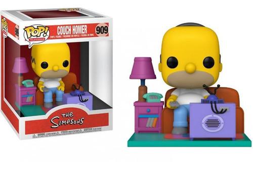 Funko The Simpsons POP! Animation Homer Watching TV Deluxe Vinyl Figure