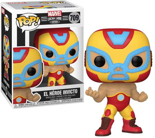 Funko Luchadores POP! Marvel El Heroe Invicto Vinyl Figure [Iron Man]