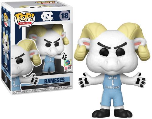 Funko University of North Carolina POP! Mascots Rameses Vinyl Figure #18