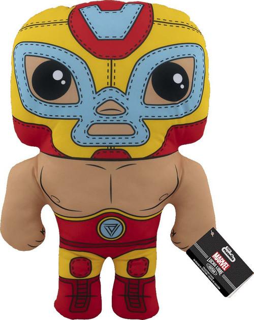 Funko Marvel Luchadores Iron Man 17-Inch Plush