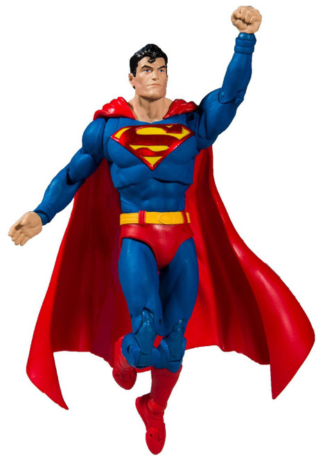 McFarlane Toys DC Multiverse Superman Action Figure [Action Comics #1000, Damaged Package]