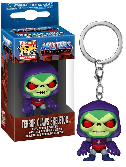 Funko Masters of the Universe Pocket POP! Skeletor with Terror Claws Keychain (Pre-Order ships February)