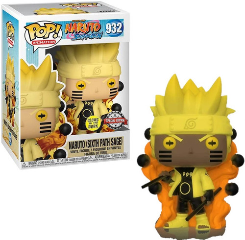 Funko Naruto POP! Animation Six Path Sage Exclusive Vinyl Figure #932 [Glow-in-the-Dark]