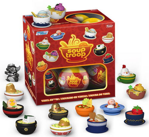 Funko Paka Paka Soup Troop Zoups Mystery Box [18 Packs]