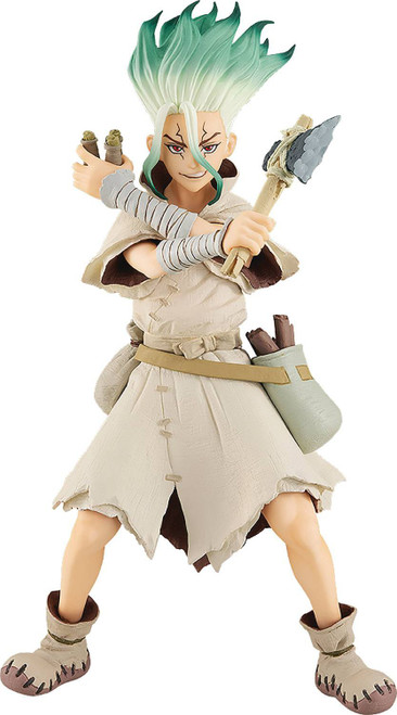 Dr. Stone Pop Up Parade Senku Ishigami 6.6-Inch Collectible PVC Figure