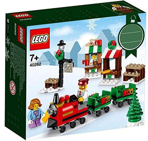 LEGO Christmas Mini Train Ride Set #40262 [Damaged Package]