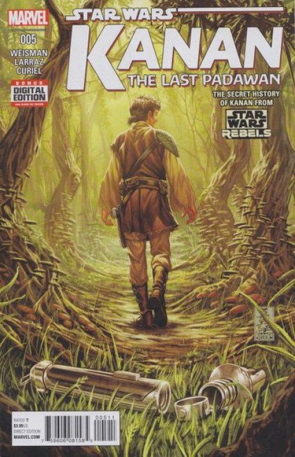 Marvel Star Wars: Kanan: The Last Padawan #5 Comic Book