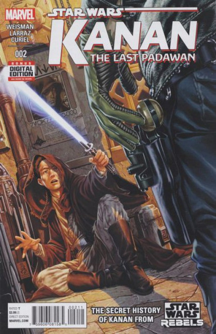 Marvel Star Wars: Kanan: The Last Padawan #2A Comic Book