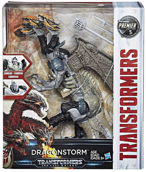 Transformers The Last Knight Leader Class Dragonstorm Action Figure [Damaged Package]