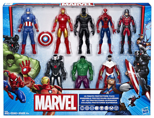 Marvel Ultimate Protectors Exclusive Action Figure 8-Pack [Damaged Package]