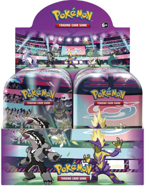 Pokemon Trading Card Game Galar Power Set of 5 Mini Tins
