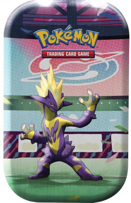 Pokemon Trading Card Game Galar Power Toxtricity Mini Tin Set [2 Booster Packs & Coin!]
