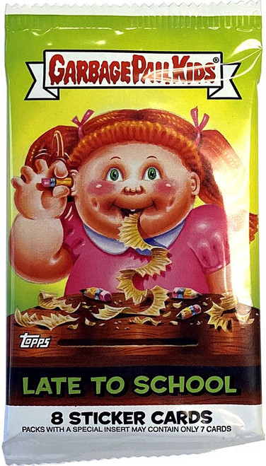 Garbage Pail Kids Topps 2020 Late To School Trading Card Sticker RETAIL Pack [8 Cards]
