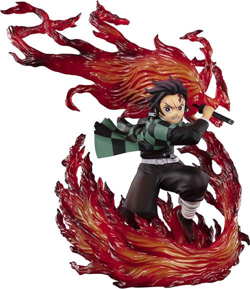 Demon Slayer: Kimetsu no Yaiba Figuarts Zero Kamado Tanjiro 8.2-Inch Statue [Hinokami Kagura] (Pre-Order ships February)