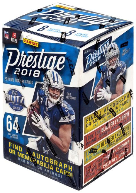 NFL Panini 2018 Prestige Football Trading Card BLASTER Box [8 Packs]