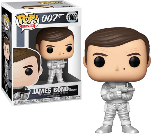 Funko James Bond POP! Movies Roger Moore Vinyl Figure #1069 [Moonraker]