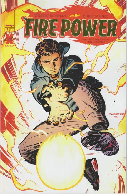 Image Comics Fire Power #1 Comic Book [Gold Foil Title Variant]