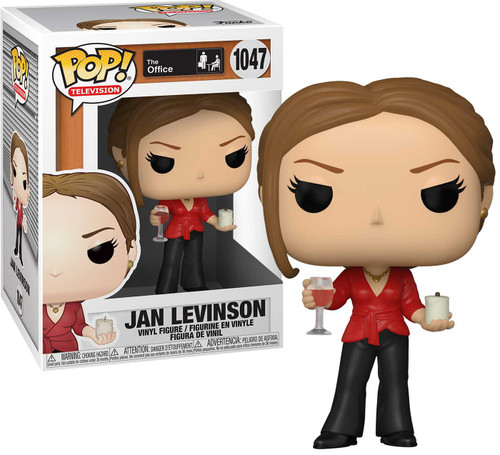 Funko The Office POP! TV Jan with Wine and Candle Vinyl Figure (Pre-Order ships November)