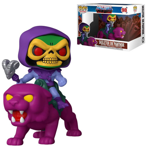 Funko Masters of the Universe POP! Rides Skeletor on Panthor Vinyl Figure #98 (Pre-Order ships January)