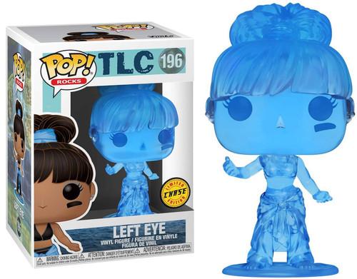 Funko TLC POP! Rocks Left Eye Vinyl Figure #196 [Blue, Chase Version]