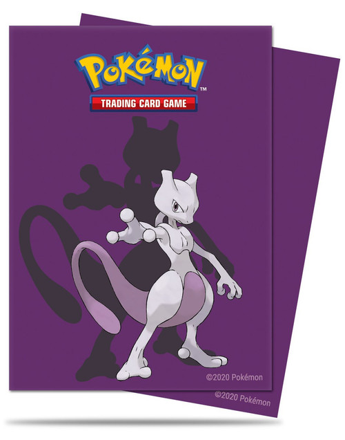 Ultra Pro Pokemon Trading Card Game Card Supplies Chromafusion Card Sleeves Standard [Mewtwo] (Pre-Order ships January)