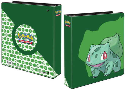 Ultra Pro Pokemon Trading Card Game Card Supplies Bulbasaur 2 Inch Album (Pre-Order ships January)