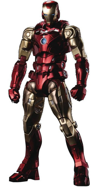 Marvel Fighting Armor Iron Man Collectible Action Figure