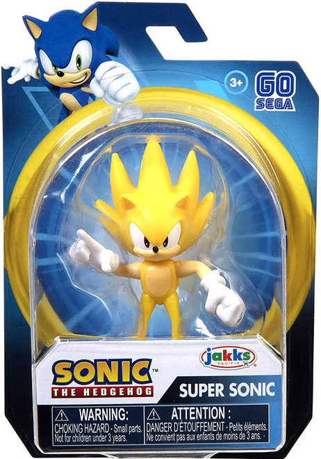 Sonic The Hedgehog 2020 Wave 2 Modern Super Sonic 2.5-Inch Mini Figure
