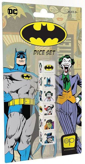 DC Batman Dice Set