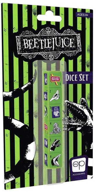 Beetlejuice Dice Set (Pre-Order ships November)