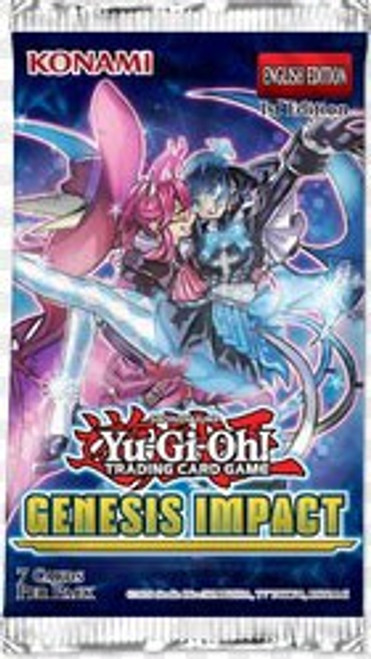 YuGiOh Trading Card Game Genesis Impact Booster Pack [7 Cards]