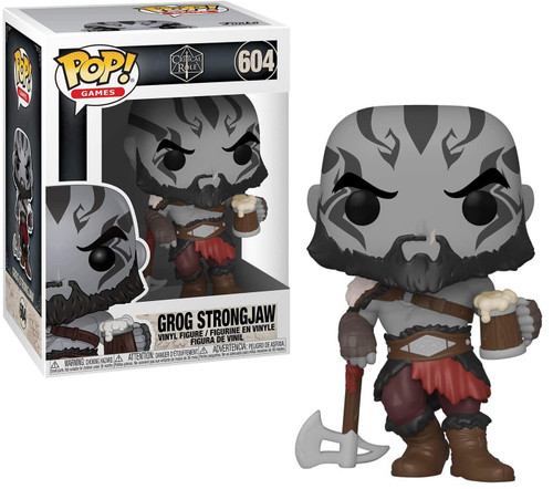 Funko Vox Machina Pop! Games Grog Strongjaw Vinyl Figure #604