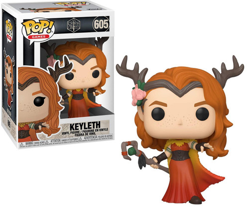 Funko Vox Machina Pop! Games Keyleth Vinyl Figure #605