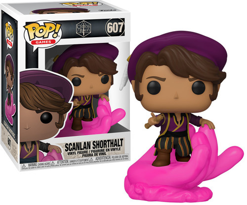 Funko Vox Machina Pop! Games Scanlan Shorthalt Vinyl Figure #607