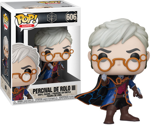 Funko Vox Machina Pop! Games Percival de Rolo Vinyl Figure #606