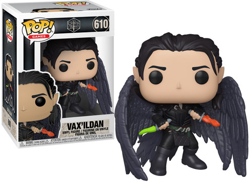 Funko Vox Machina Pop! Games Vax'ildan Vinyl Figure #610
