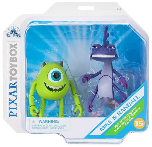 Disney / Pixar Monsters Inc Toybox Mike Wazowski & Randall Exclusive Action Figure 2-Pack