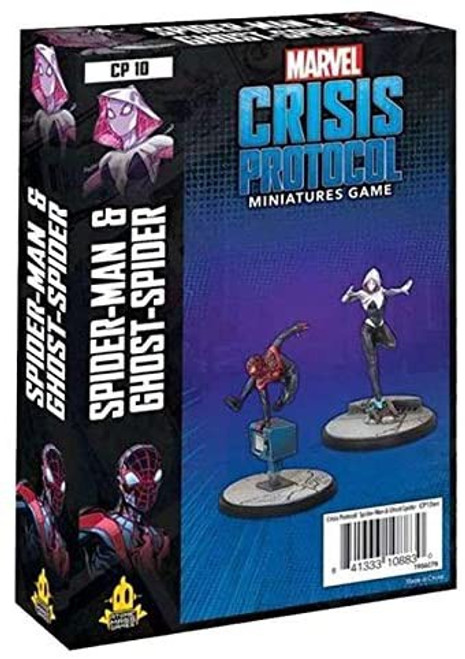 Marvel Crisis Protocol Spider-Man & Ghost Spider Character Pack
