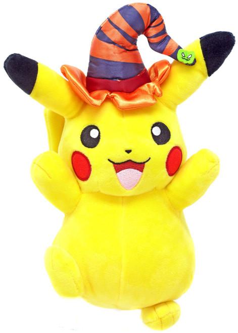 Pokemon Pikachu 10-Inch Plush [Witch Hat]