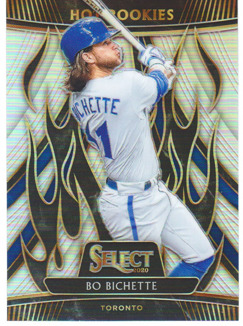 MLB 2020 Select Baseball Bo Bichette Single Sports Card HR-2 [Hot Rookie Insert]