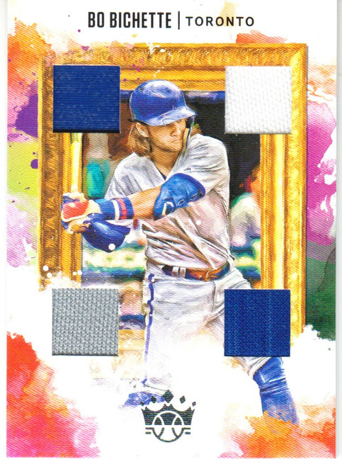 MLB 2020 Diamond Kings Baseball Bo Bichette Rookie Single Sports Card DKQ-BO [Quad Patch]